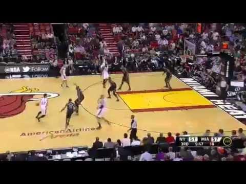 New York Knicks vs. Miami Heat (Jeremy Lin, 8 Pts vs. LeBron James, 20 Pts), Feb. 23, 2012