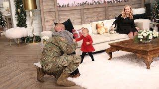 Military Dad Returns Home & Surprises His Kids! -Pickler & Ben