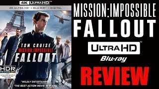 MISSION IMPOSSIBLE FALLOUT 4K Blu-ray Review