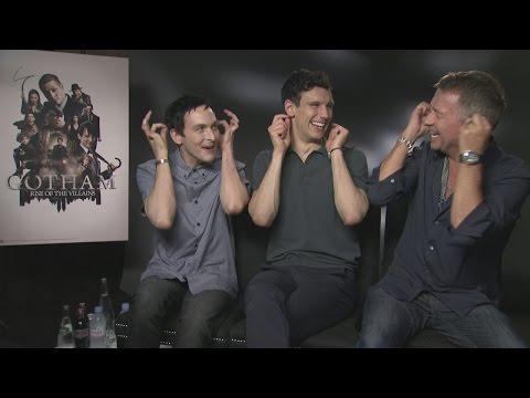 GOTHAM: Robin Lord Taylor, Cory Michael Smith & Sean Pertwee reveal future villains
