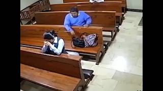 'God will provide': Brazen thief steals from praying woman