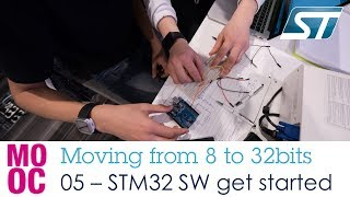 Moving from 8 to 32bit workshop - 5 STM32 software getting started