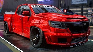 BAGGED CHEVY COLORADO BUILD - Need for Speed: Heat Part 31