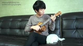 (Stevie Wonder) Isn't_She_Lovely - Sungha Jung (Ukulele)