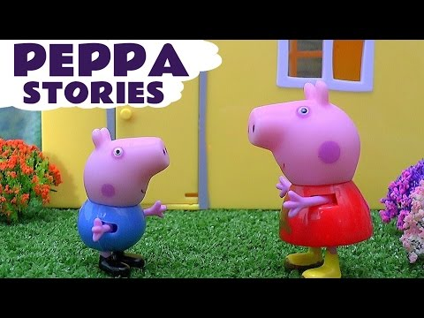 Peppa Pig English Episodes Play Doh Thomas The Train Toy Story Surprise Eggs Pepa Video