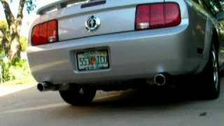 V6 Mustang exhaust JBA headers and pipes