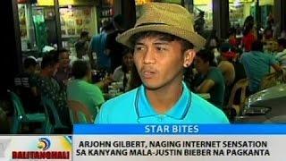 Arjohn Gilbert, naging internet sensation sa kanyang mala-Justin Bieber na pagkanta