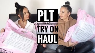 £200+ PRETTYLITTLETHING 'BLACK FRIDAY' TRY ON HAUL - AYSE AND ZELIHA