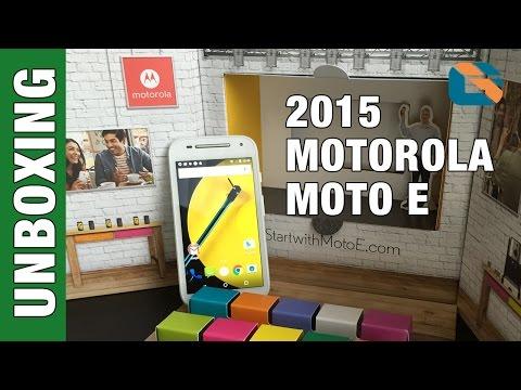 2015 Motorola Moto E 4G LTE 2nd Gen Special Unboxing & First Look #MotoE2015
