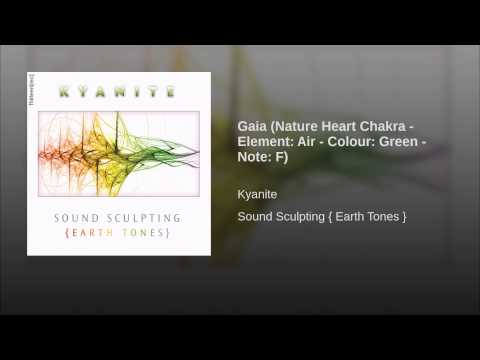 Gaia (Nature Heart Chakra - Element: Air - Colour: Green - Note: F)
