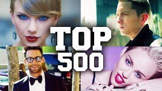 Download Lagu TOP 500 Most Viewed English Songs of All Time Gratis STAFABAND