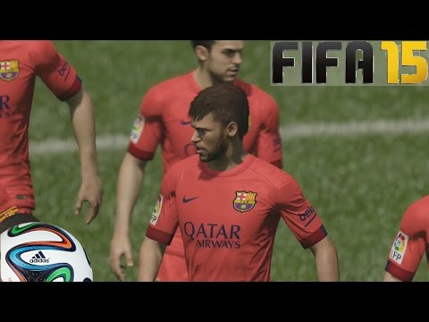 Fifa 15 Gameplay En Ps4 - Barcelona Vs Chelsea - Pura  Magia Probando El Juego video