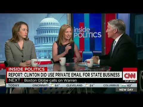 Report: Clinton did use private email for State business