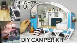 DIY Caravan Dollhouse Kit (with a modern spin!)