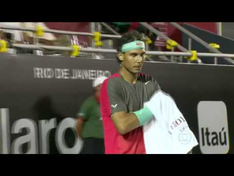 Rafael Nadal - Homenagem A Gustavo Kuerten Rio Open De Tênis