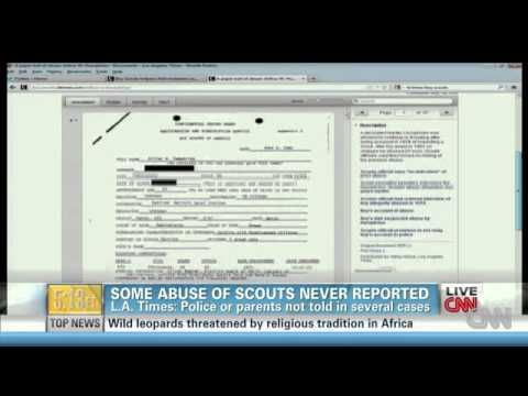 Paedophilia Within The Boy Scout Movement !