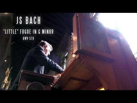 Бах Иоганн Себастьян - Bwv 578 Little Fugue Duet