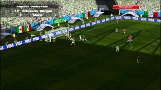 PES 6 Mexico vs Chile Cánticos 2014 VERSIÓN FINAL