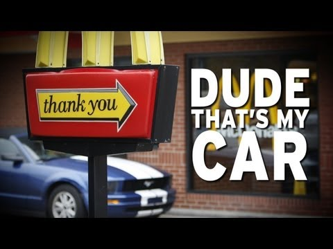 Drive-Thru Employee Spots Her Own Stolen Car!!!