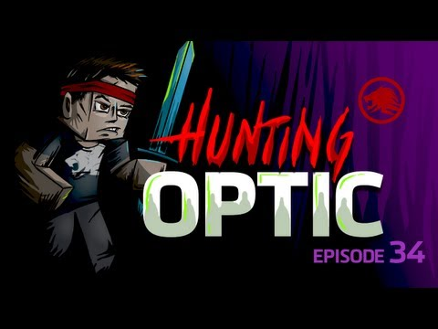 Minecraft: Hunting OpTic Diamonds = Weapons Episode 34