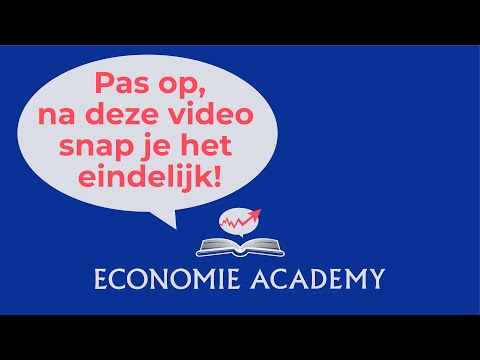 Economie Academy: les prijselasticiteit
