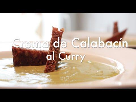 Crema de Calabacín al Curry - Recetas con Olla Rápida o Express