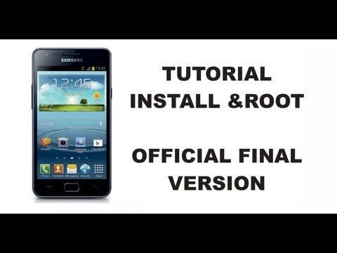 Install & ROOT Galaxy S2 Official Final JB 4.1.2 XWLS8 Tutorial English