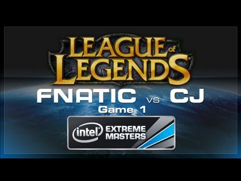 Fnatic vs CJ IEM Game 1 Cologne League of Legends 2012