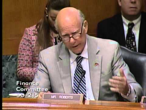 Sen Roberts Votes Against Jack Lew Confirmation in Finance Committee