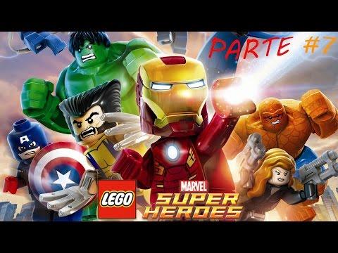 LEGO MARVEL Super Heroes PC - Parte 7 - Una bienvenida glacial (Español)