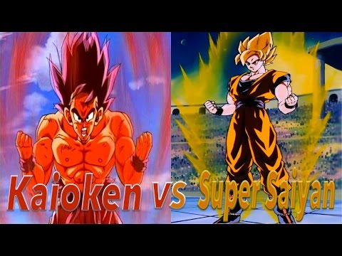 Kaio-Ken V.S. Super Saiyan : (Can Kaio-Ken Be Just As Strong?)
