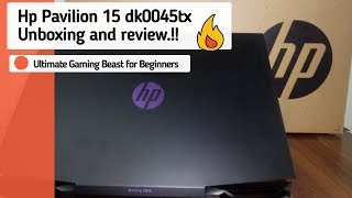 Hp Pavilion 15 dk0045tx Full Unboxing and Review   The Ultimate Gaming Beast for beginners...!!