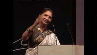 Sarita Joshi Recites Suresh Dalal Poetry