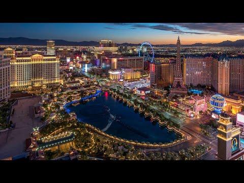 Walking in Las Vegas - USA - DJI Osmo Pocket 4K video
