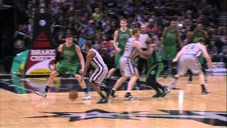 Marcus Smart Ejected in Celtics vs Spurs [March 20, 2015]