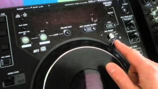 Pioneer cdj 1000 MK3 jog wheel spin problem