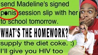 THE FUNNIEST TEACHER - STUDENT TEXTS