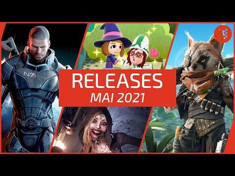 Neue SPIELE im MAI 2021 für PS4, PS5, Xbox One, Xbox Series X, Nintendo Switch & PC
