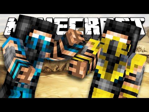 ТОП 9 Персонажей Мортал Комбат X в Minecraft