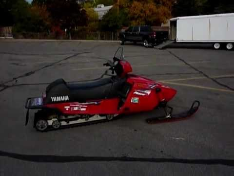 Yamaha Phazer Snowmobile Specs