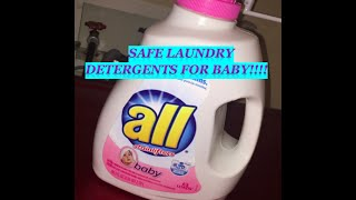Safe Laundry Detergent for Baby!!!