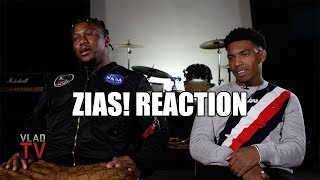 ZIAS! Reaction on Initially Going Viral with Meek Mill Freestyle Reaction Video (Part 1)