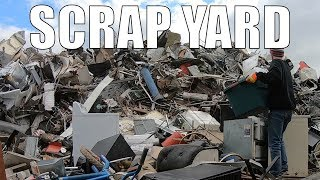 SCRAP METAL RECYCLING at The Scrap Yard - Making The MOST Money Possible!