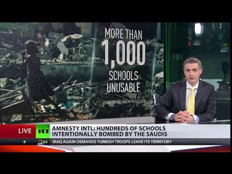 Saudi Bombs Targeting Yemen Schools