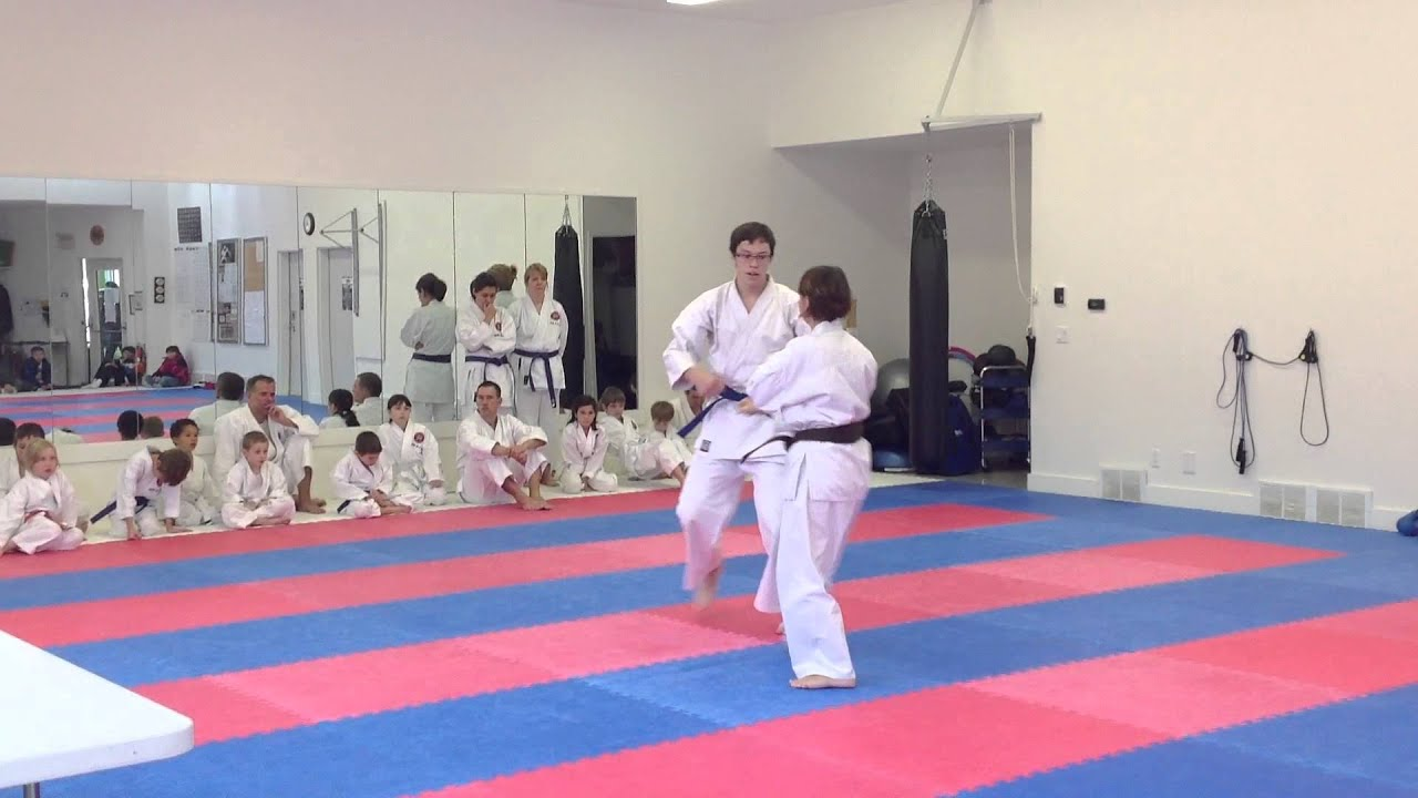 Testing For Purple Belt