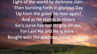 In Christ alone lyrics
