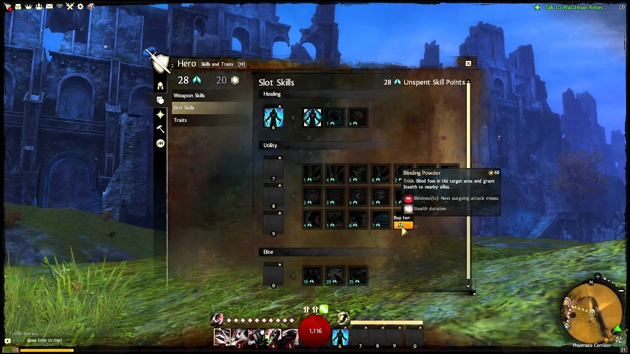 Gw2 thief slot skills build tropical stud poker online gratis