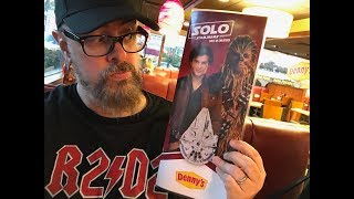 Solo: A Star Wars Story Arrives At Denny's | Full Review Food & Product Tie Ins