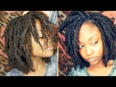 AFRO KINKY TWISTS USING AFRO SOUL BULK   @MEEKFRO   SUPERLINE COLLECTION REVIEW