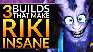 How MIRACLE Adapts to ANY Situation with these 3 BROKEN RIKI BUILDS - Dota 2 Pro Guide